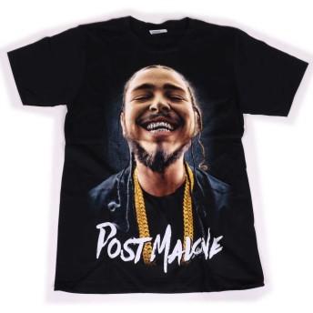 Post Malone フォトプリント 半袖 Tシャツ T760