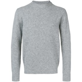 Aspesi double crew neck sweater - グレー