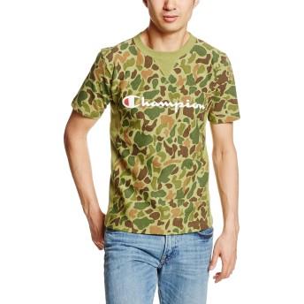 [チャンピオン] リバースウィーブ Tシャツ C3-H372 メンズ グリーン 日本 M (日本サイズM相当)