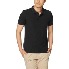 [ジョルダーノ] ベーシックポロシャツ M ブラック
