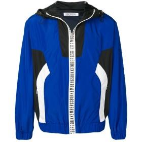 DIRK BIKKEMBERGS カラーブロック ジャケット - ブルー