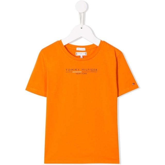 Tommy Hilfiger Junior ロゴ Tシャツ - オレンジ