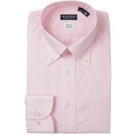 (ザ・スーツカンパニー) ボタンダウンカラードレスシャツ 無地 〔EC・CLASSIC SLIM-FIT〕 ピンク 39