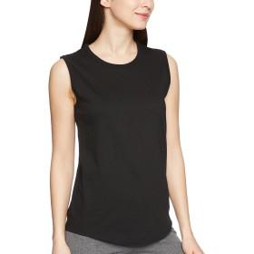 [ヘインズ] スリーブレスTシャツ HANES UNDIES HW3-M201 レディース ブラック 日本 FREE (FREE サイズ)