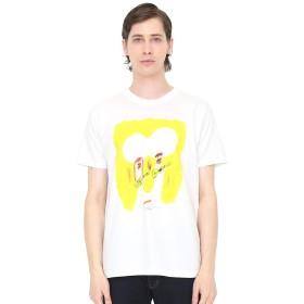(グラニフ) graniph コラボレーション Tシャツ ぼくらはこんなシャツが欲しかったんだ (荒井良二) (ホワイト) メンズ レディース M (g01) (g14) #おそろいコーデ