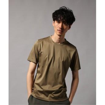 EDIFICE 160/2 シルケットスムース クルーネック Tシャツ ベージュ 48