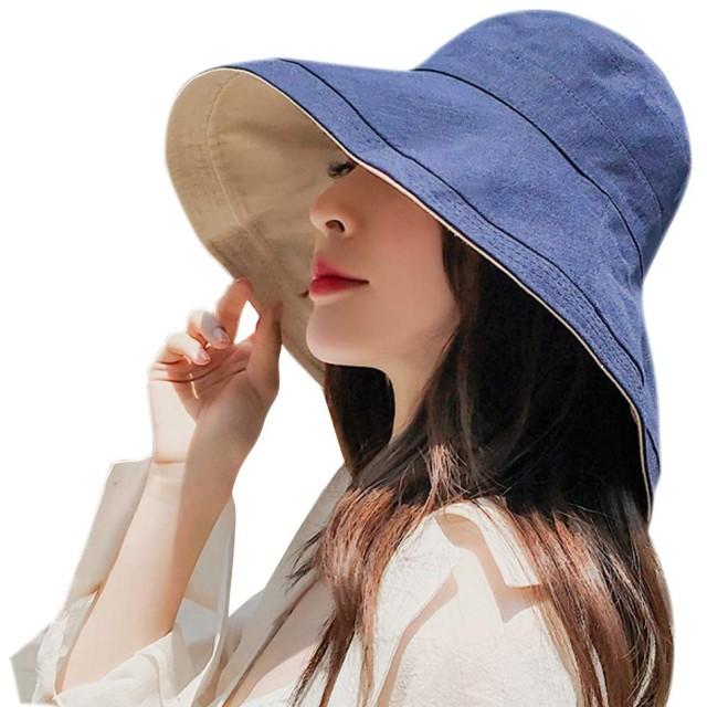 UVカット 帽子 レディース 紫外線対策 ワイヤーを加える 熱中症予防 取り外すあご紐 サイズ調節可 つば広 おしゃれ 可愛い ハット 旅行用 日よけ 夏季 女優帽 小顔効果抜群