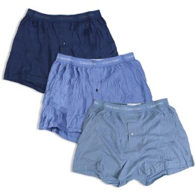 (カルバンクライン) Calvin Klein トランクス ニットボクサー 3枚組みセット Cotton Classic Knit Boxer メンズ X. [並行輸入品]