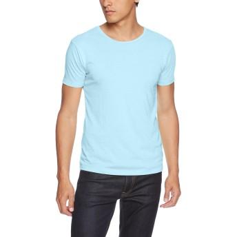 [ダルク] Tシャツ DM201 メンズ ベビーブルー 日本 XS-(日本サイズXS相当)