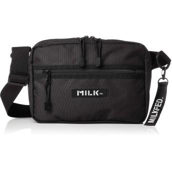 [ミルクフェド] NEO SHOULDER BAG BAR 3182097 BLACK