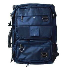 [ウィークエンド] WEEKEND リュックサック メンズ バック 3way ロールリュック カバン 鞄 ビジネスバッグ【NO.2519】 (ネイビー)