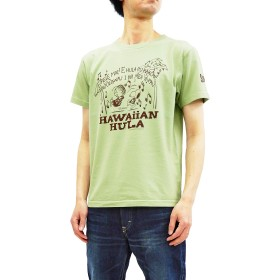(サンサーフ) Sun Surf スヌーピー Tシャツ SS78226 ピーナッツ x 東洋 メンズ 半袖Tee (Lグリーン, L)