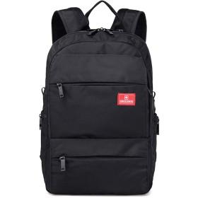 バックパック スクエアリュック リュックサック メンズ ビジネス バック 鞄 カバン レディース 高校生 通勤 通学 大容量 PC用バック A4 撥水 キャリーオン