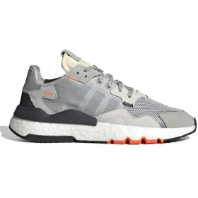 [アディダス] NITE JOGGER GREY/SOLID GREY/SOLAR ORANGE 24.0cm