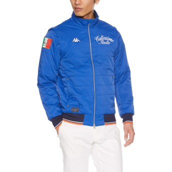 [カッパゴルフ] ゴルフ 中わたジャケット KC852OT03 メンズ Collezione ITALIA RB 日本 O (日本サイズ2L相当)