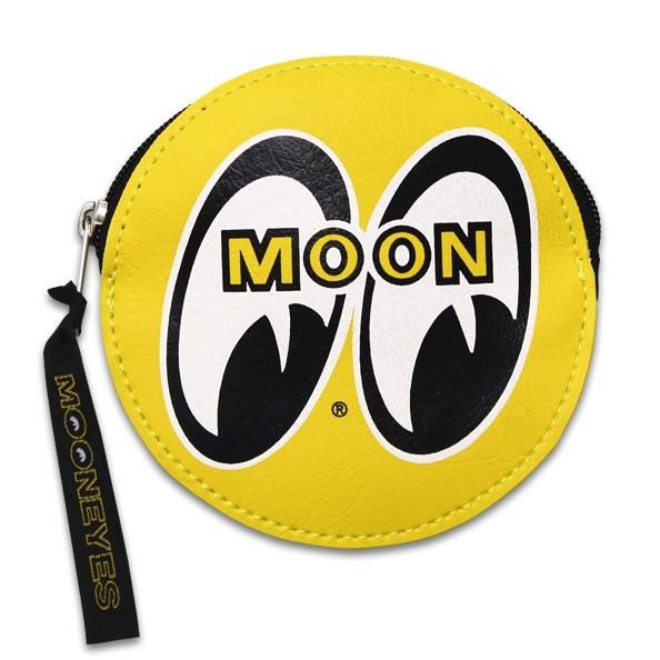 MOONEYES - MGC188YE Coin Purse 拉鍊 零錢包 / 鑰匙包 (黃色)