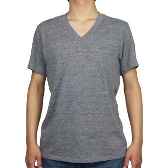 Alternative Apparel(オルタナティブアパレル) Boss V-Neck Eco-Jersey Crew T-Shirt VネックT (M, eco grey) [並行輸入品]
