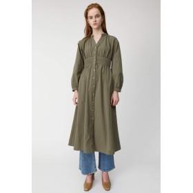 [マウジー] ワンピース ドレス WAIST GATHER SHIRT ドレス 010CSH30-1380 S グリーン レディーズ