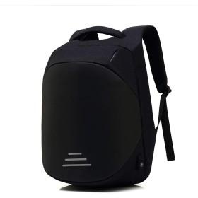 バックパック リュックサック 防犯 PCバッグ 多機能 大容量 通気 USBポート付き ビジネス 通勤 通学 出張 旅行 メンズ レディース グレー/ブラック