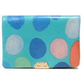 ツモリチサト 財布 二つ折り tsumori chisato 新マルチドット 5727311 (グリーン)