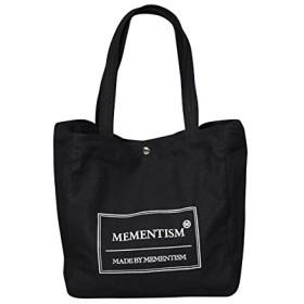 (メメントイズム) MEMENTISM 2WAYショルダーバッグ トートバッグB.I.G BIG FREE ブラック BIG_BK01F001