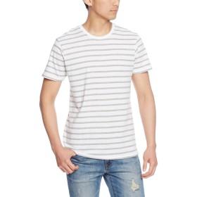 [トラス] Tシャツ SNB-141 メンズ ホワイト×ヘザーグレー 日本 XS-(日本サイズXS相当)