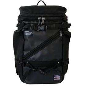 [リアルデザイン] リュック 多機能 多ポケット 大容量バックパック RPO-300 ブラック One Size