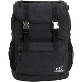 [メイ] MEI リュック リュックサック フラップ ポリスターズ2 バックパック メンズ レディース 18L MDP513 (ブラック)
