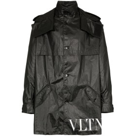 Valentino VLTN パーカーコート - ブラック