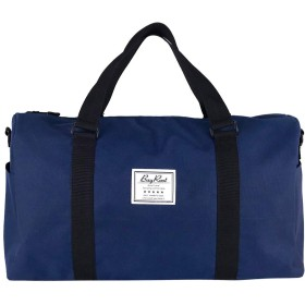 [BayRoot] 旅行バッグ 旅行カバン ボストンバッグ トラベルバッグ スポーツバッグ 大容量 撥水 軽量 キャリーオン ショルダー 2way 紺 ( ネイビー )