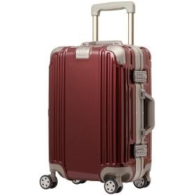 スーツケース キャリーケース キャリーバッグ Sサイズ ディープクォーツレッド ダイヤルロック ダブルキャスター レジェンドウォーカー 5509-48
