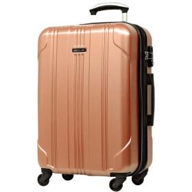 S型 ローズゴールド/SELICA-F TSAロック搭載 スーツケース キャリーバッグ ストッパー付 (1~3日用) 超軽量 機内持込 国内/国際線持込可能