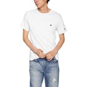 [チャンピオン] ワンポイントロゴTシャツ ベーシック C3-P300 メンズ ホワイト 日本 XL (日本サイズXL相当)