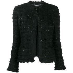 Chanel Pre-Owned 2005 スパンコール ジャケット - ブラック