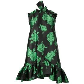 MSGM フローラル ドレス - ブラック