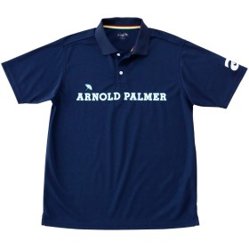 アーノルドパーマー ゴルフウェア ポロシャツ 半袖 メンズ 胸ロゴ鹿の子半袖ポロ AP220101I05 NV M