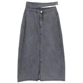 titivate フロントスリットバックルデザインスカート