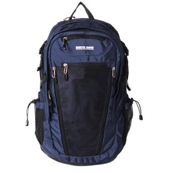 [モンスタークラウン]MONSTER CROWN レイヤ バックパック 2シリーズ(メッシュ)(Layer Backpack 2Series)[並行輸入品] (Navy)