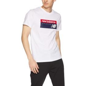 [ニューバランス] Tシャツ NBアスレチックバナーT WT(ホワイト) 日本 S (日本サイズS相当)
