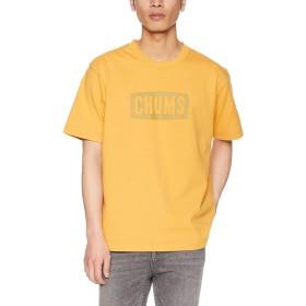 [チャムス] Tシャツ Heavy Weight CHUMS Logo T-Shirt Yellow 日本 L (日本サイズL相当)