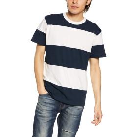 [ユナイテッド アスレ] 5.6オンス ボーダーTシャツ 5.6オンス ボーダーTシャツ メンズ 562501 ネイビー/ホワイト/(15.0cmピッチ) 日本 XL (日本サイズXL相当)