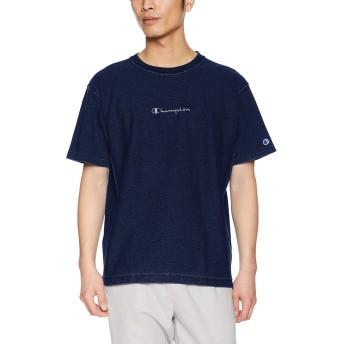 [チャンピオン] リバースウィーブ Tシャツ C3-P319 メンズ インディゴ 日本 L (日本サイズL相当)