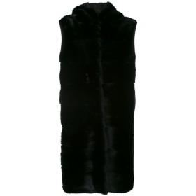Liska Biscottie ファーコート - ブラック