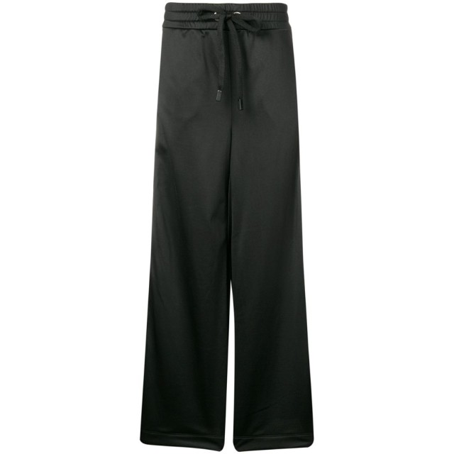 No Ka' Oi flared track pants - ブラック