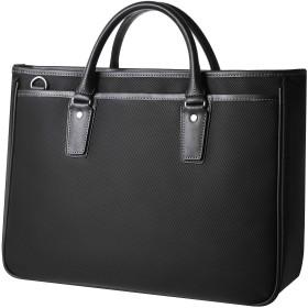 [GLEVIO] ビジネスバッグ A4 メンズ ブラック 2WAY