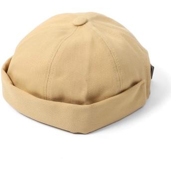 [エムエイチエー] M.H.A.style ロールキャップ つばなし帽子 (コットンツイル) フィッシャーマンズキャップ オールシーズン [全5色] 22140 B.ベージュ