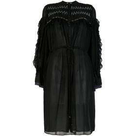 Koché フレア シャツドレス - ブラック