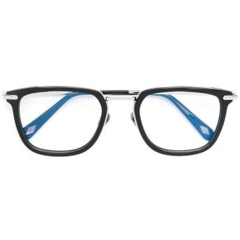 Brioni ウェリントン眼鏡フレーム - ブラック