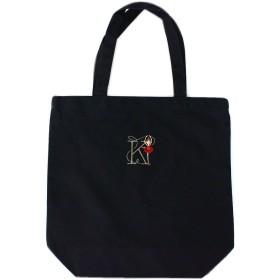 Shinzi Katoh 刺繍トートバック(M) ブラック ballet K