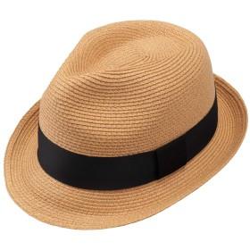 JETEDC(ジェットイデイシイ)麦わら帽子 メンズ レディーズ ストローハット (黄)